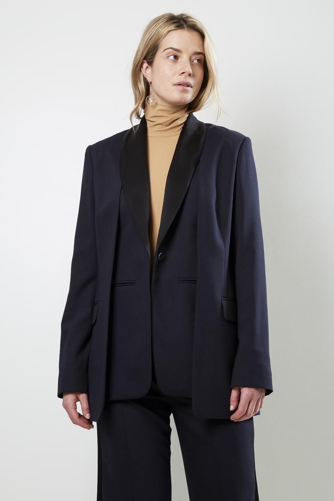 Frenken surface basic suiting blazer