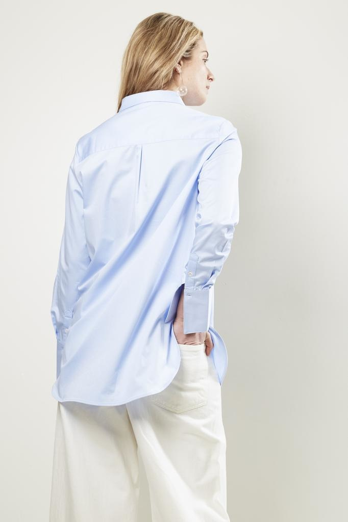 Frenken office satin shirt