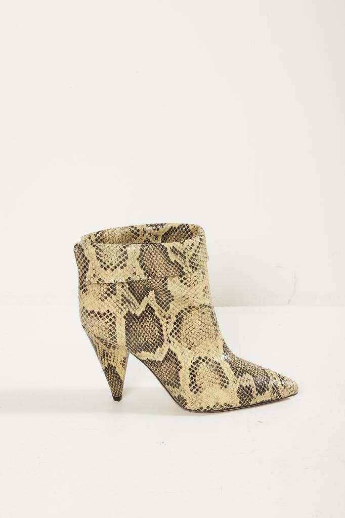 Isabel Marant LISBO EXOTIC CENTRAL Low Boots