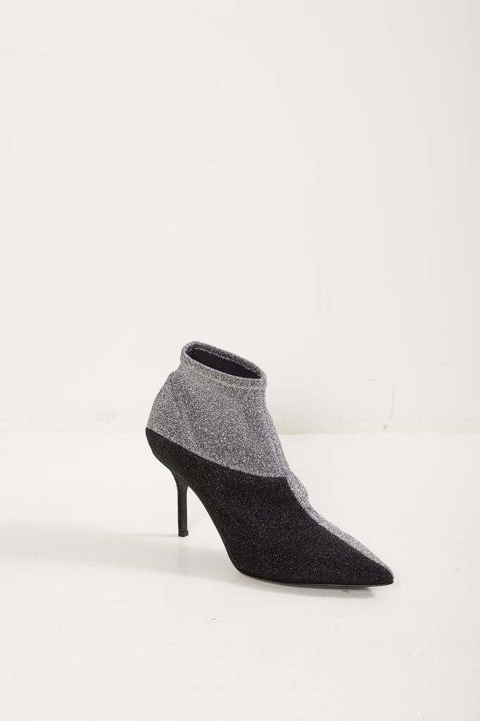 - KELLY BOOTS ANKLE BOOT 80 MM KNITTED FABRIC