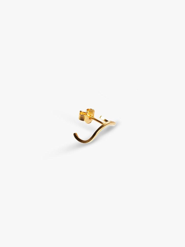 The Boyscouts Earring Element Wedge Gold