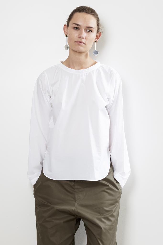 Sofie d'Hoore brussels cotton poplin top
