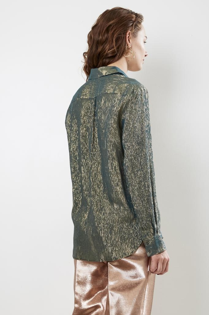 inDRESS - sparkling silk shirt