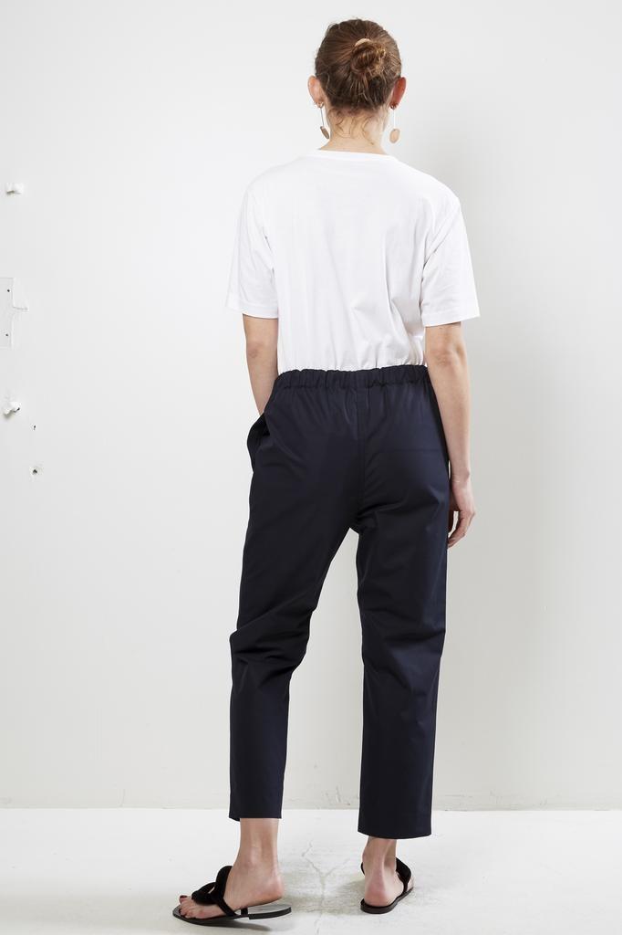 Sofie d'Hoore piano cotton super poplin trousers