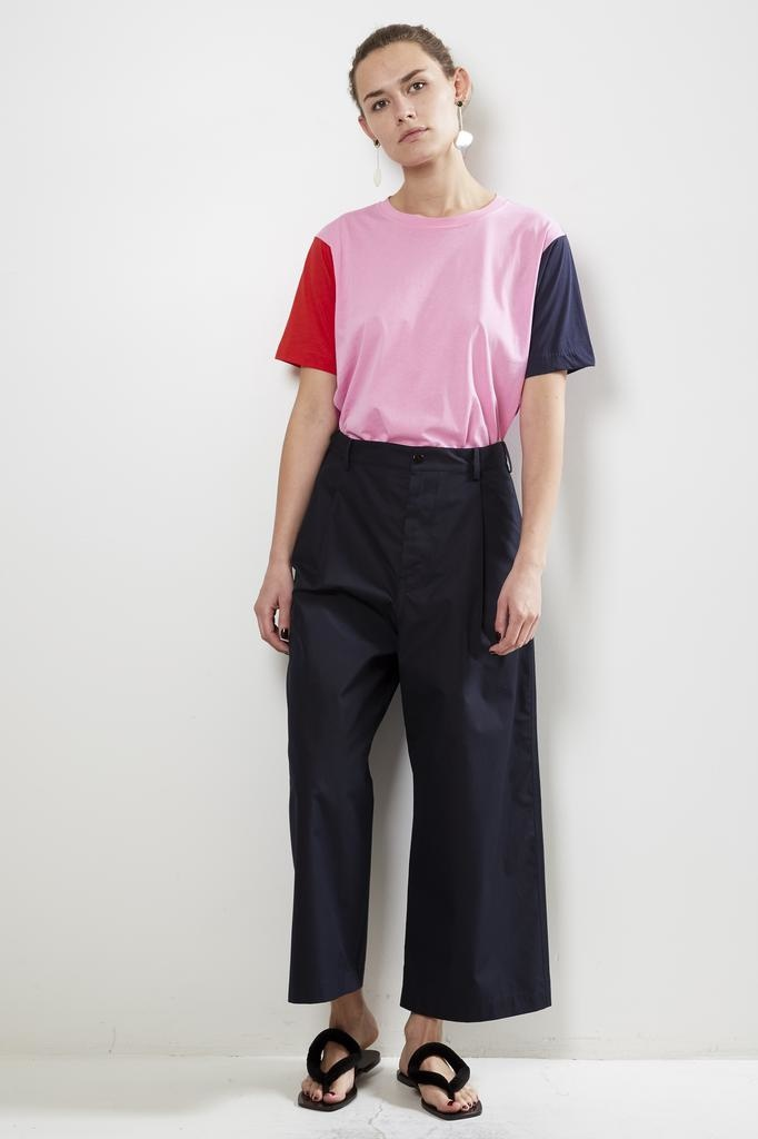 Sofie d'Hoore provence high density cotton twill trousers