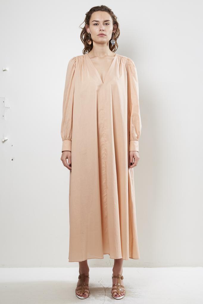 inDRESS cotton voile v-neck dress