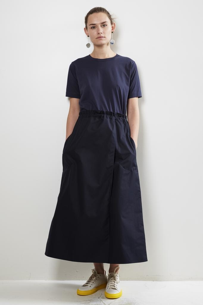 Sofie d'Hoore serra cotton superpoplin skirt