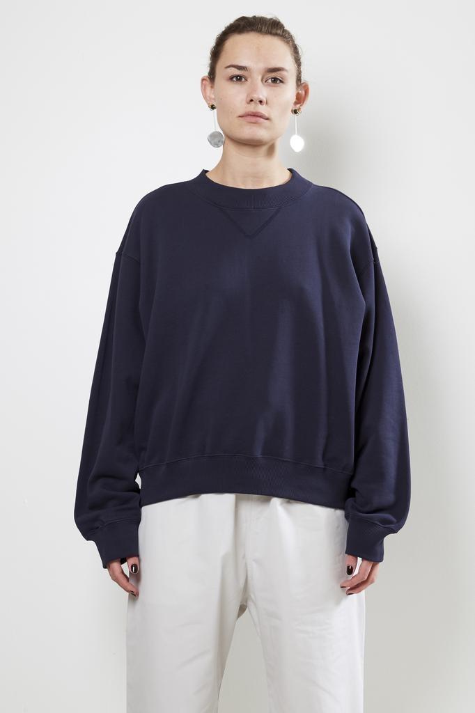 Sofie d'Hoore tone cotton fleece sweater