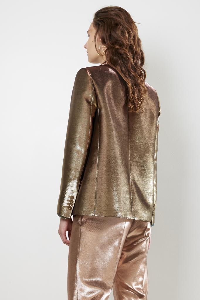 inDRESS - lurex canvas jacket