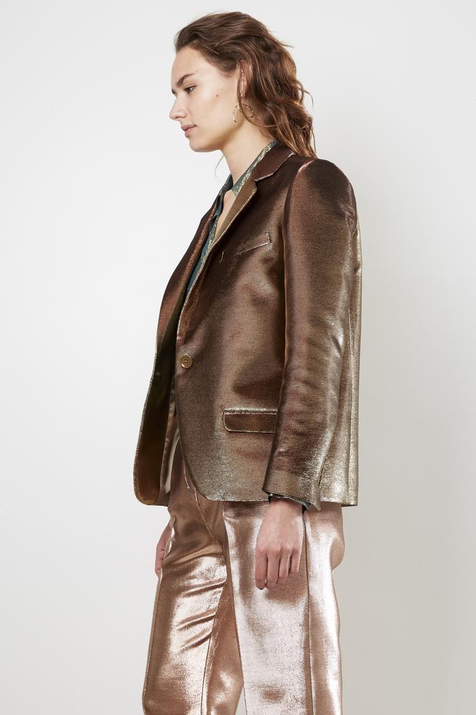inDRESS lurex canvas jacket