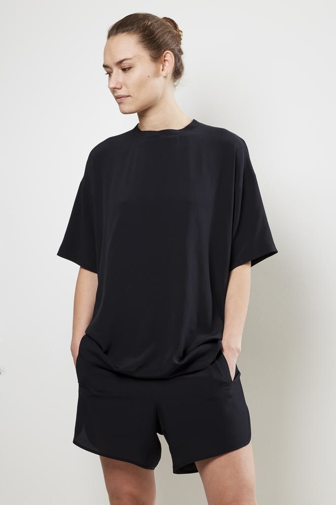 Monique van Heist LOL mini shortsleeve silk t-shirt
