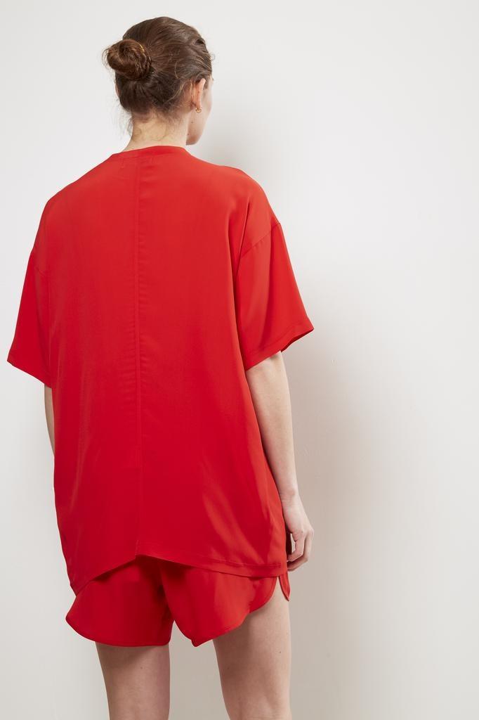 Monique van Heist - LOL mini shortsleeve silk t-shirt