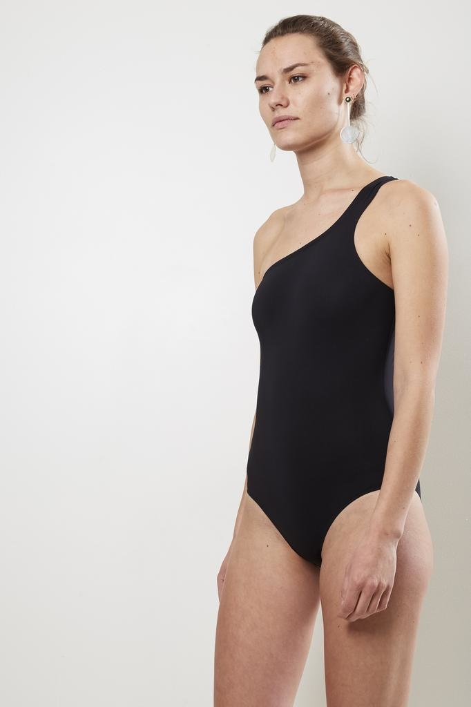 Isabel Marant - Sage one shoulder swimsuit