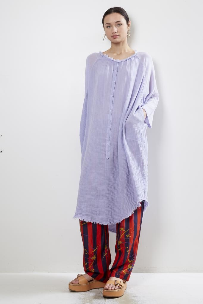 Raquel Allegra Joni Poet Dress Gauze
