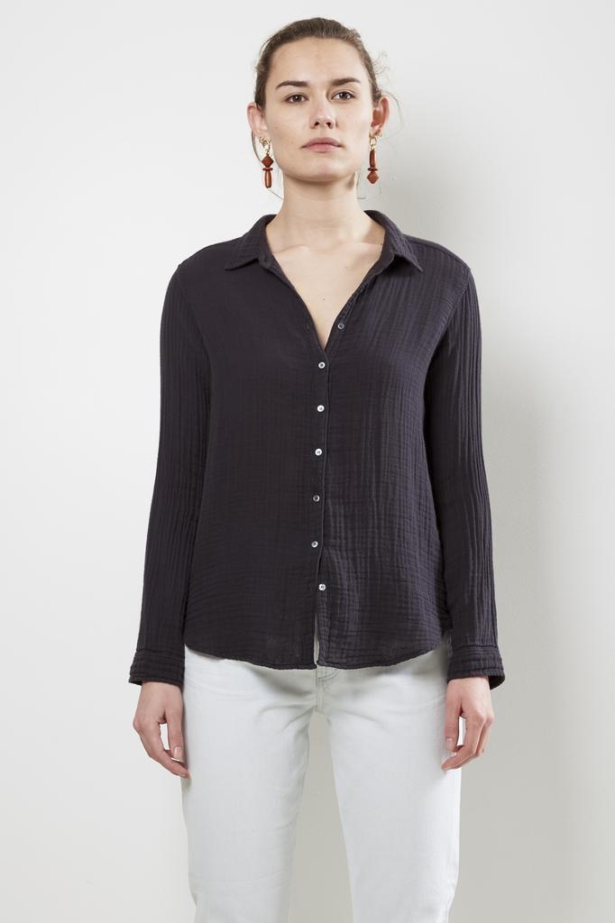 Xirena scout cosette gauze shirt