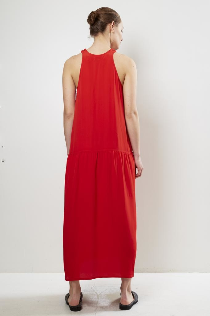 Monique van Heist - DAISY RED SILK DRESS