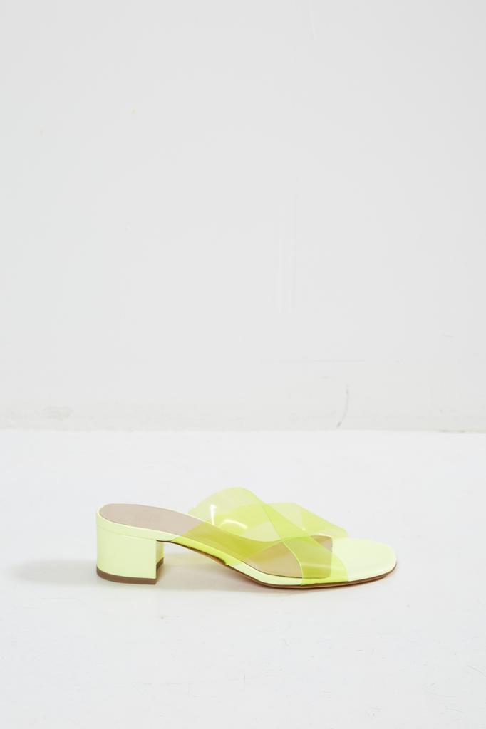 Maryam Nassir Zadeh Lauren plastic slide