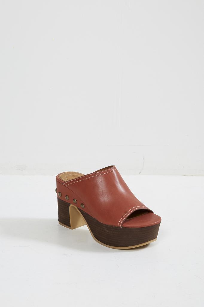 See by Chloé NATURAL CALF platform sandals