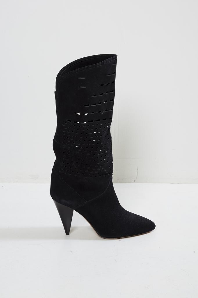 Isabel Marant LURREY PERFORATED STOR LOW BOOTS