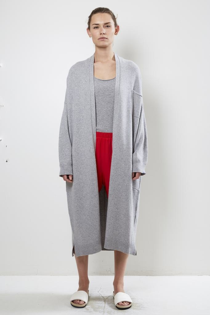 extreme cashmere Nº61 koto long version cardigan
