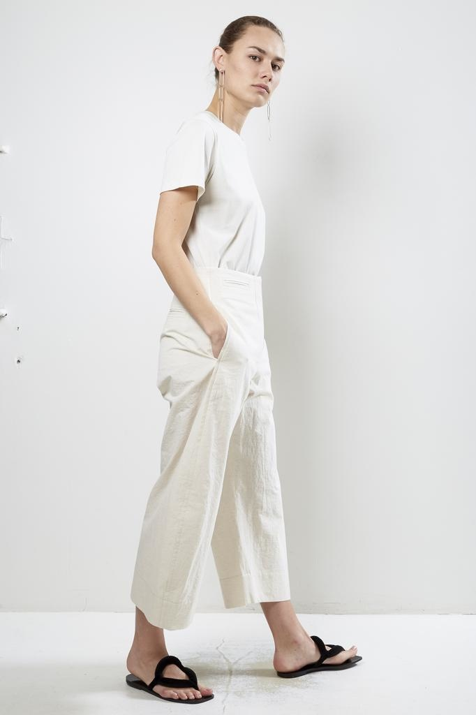 Lemaire - CROPPED CHINO PANTS