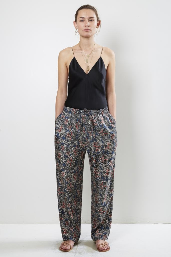 Bananatime silk digital print easy pant