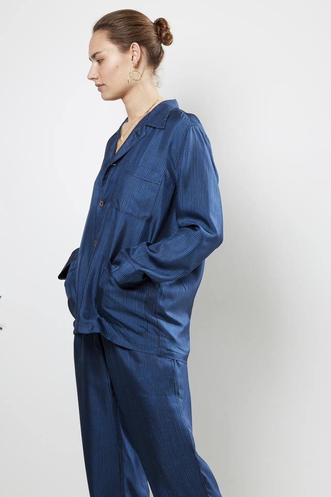 Bananatime - silk printed soft jacket