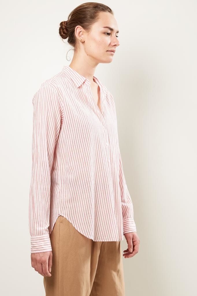 Xirena beau sundance cotton stripe shirt