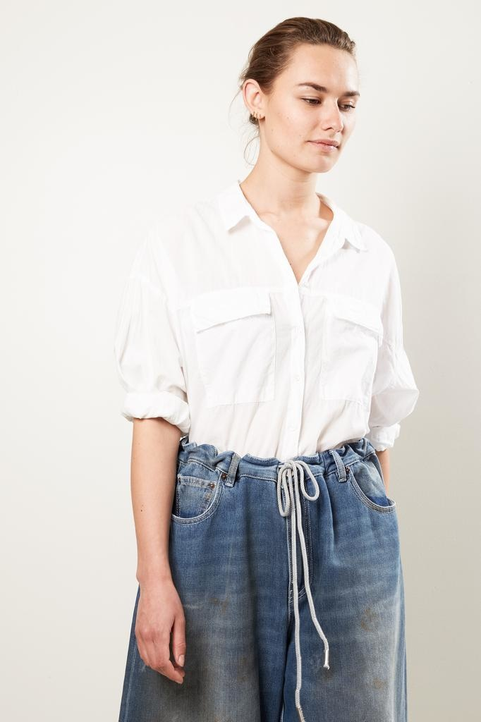 Xirena garret cotton poplin shirt