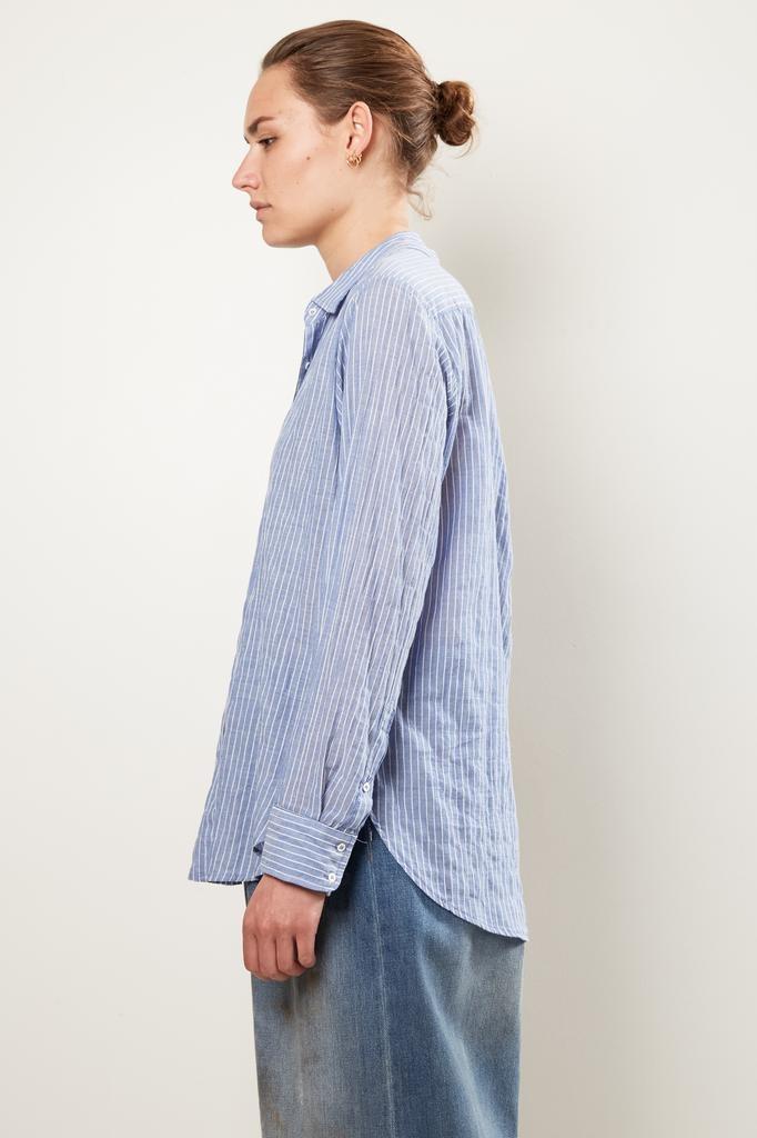 Xirena - beau weather vane cotton stripe shirt