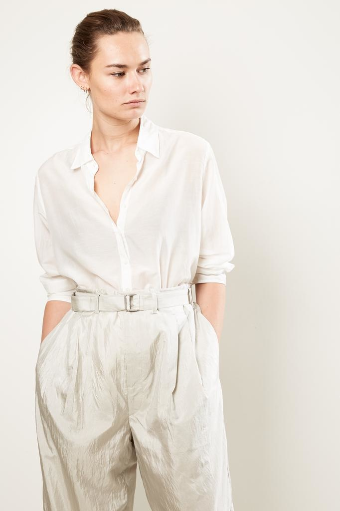 Xirena gypset galliope silk cotton shirt