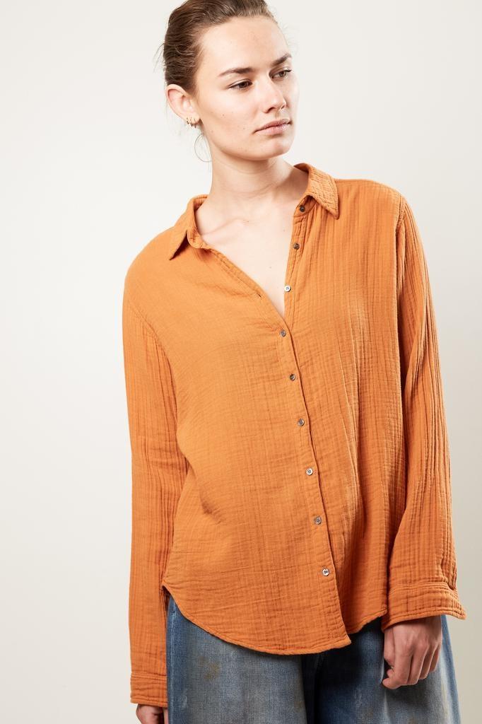 Xirena scout chelsea gauze shirt