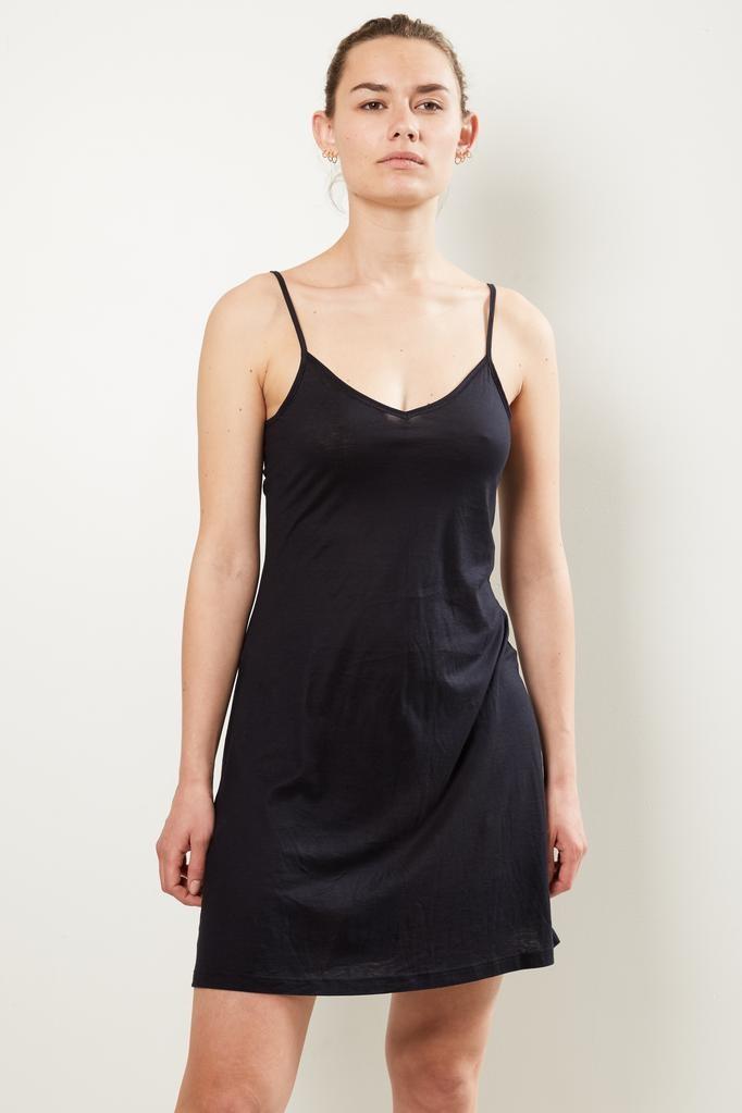 hanro ultralight mercerized cotton body dress