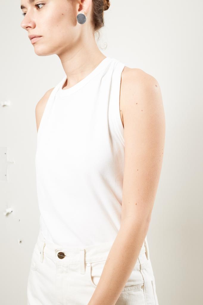 Helmut Lang - halter neck jersey top