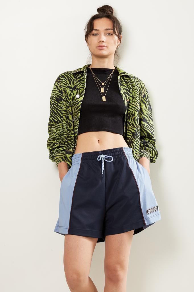 Ganni Pique Jersey short