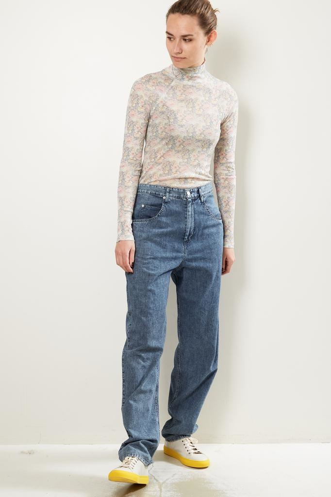 Isabel Marant lex snow dye pants
