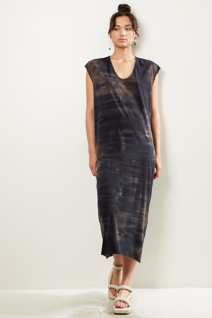 Raquel Allegra caftan tie dye dress