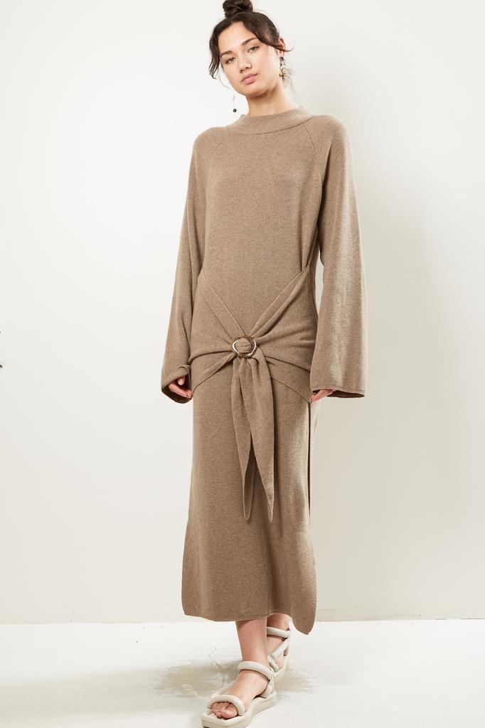 Nanuska MAHALI CASHMERE BLEND RIB dress