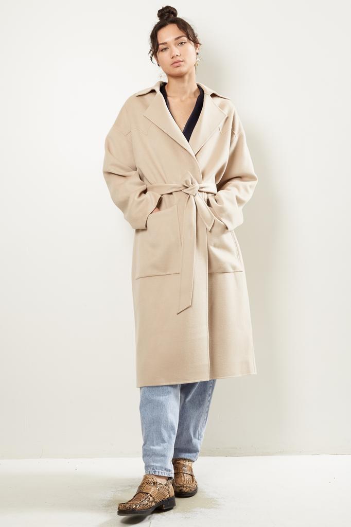Nanuska ALAMO DOUBLE WOOL coat