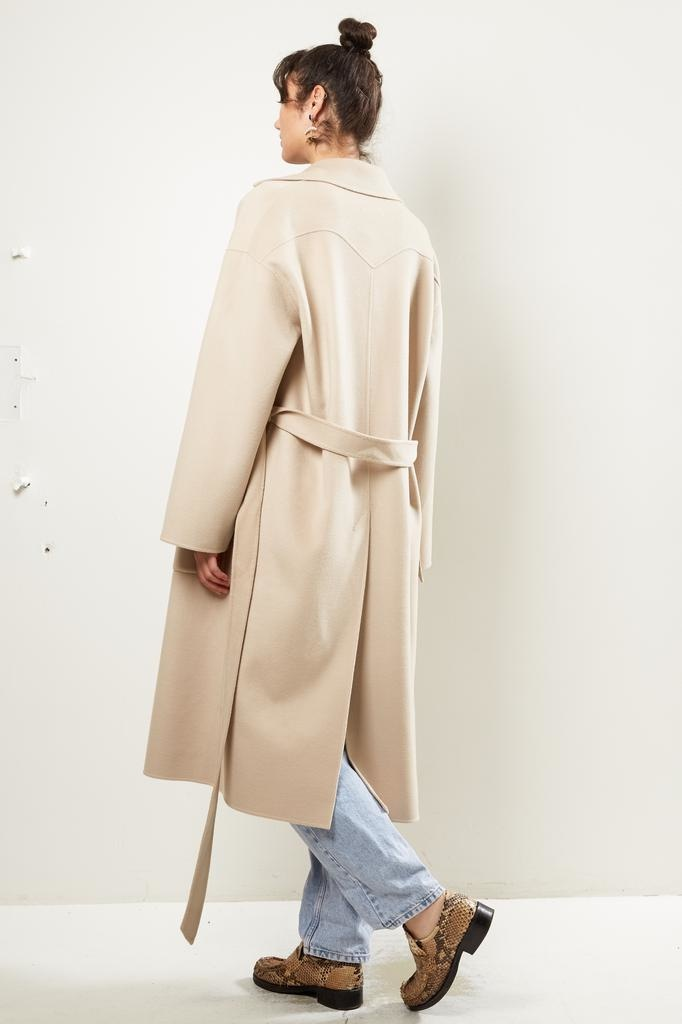 Nanushka - ALAMO DOUBLE WOOL coat