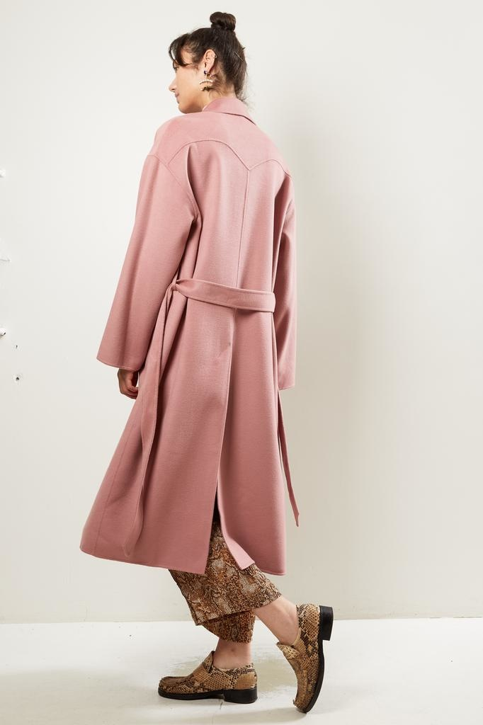 Nanuska - ALAMO DOUBLE WOOL coat