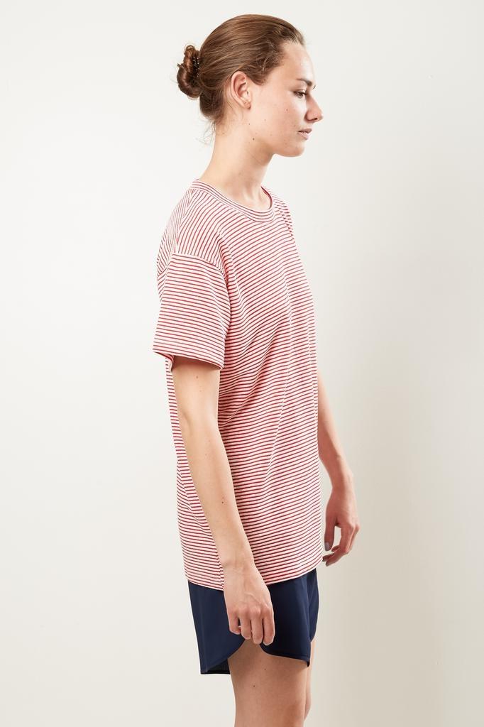 Monique van Heist Boy stripe linen t-shirt