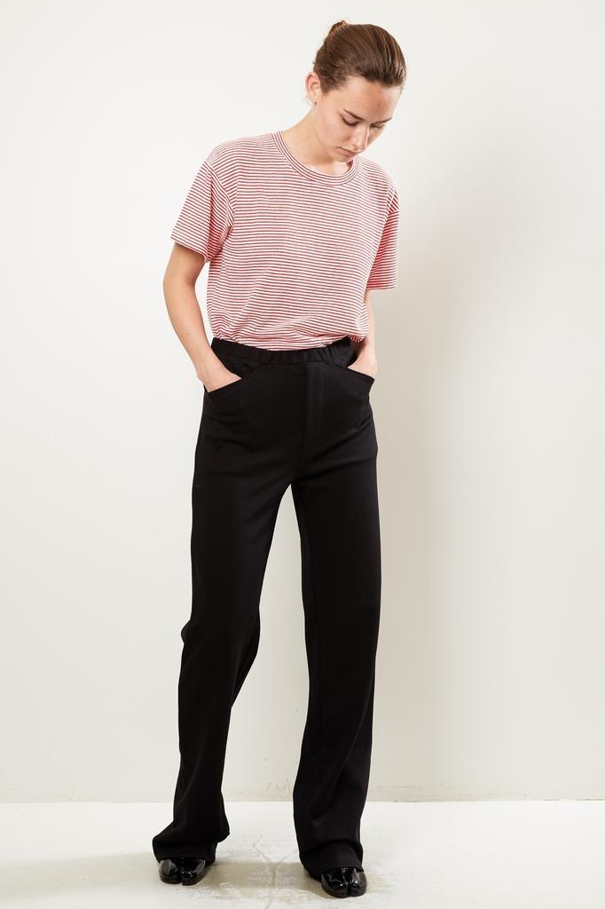 Monique van Heist Sailor stretch matte lycra trousers