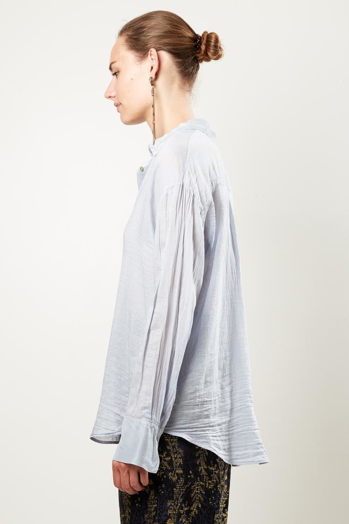 Forte Forte co/se voile shirt with silk details