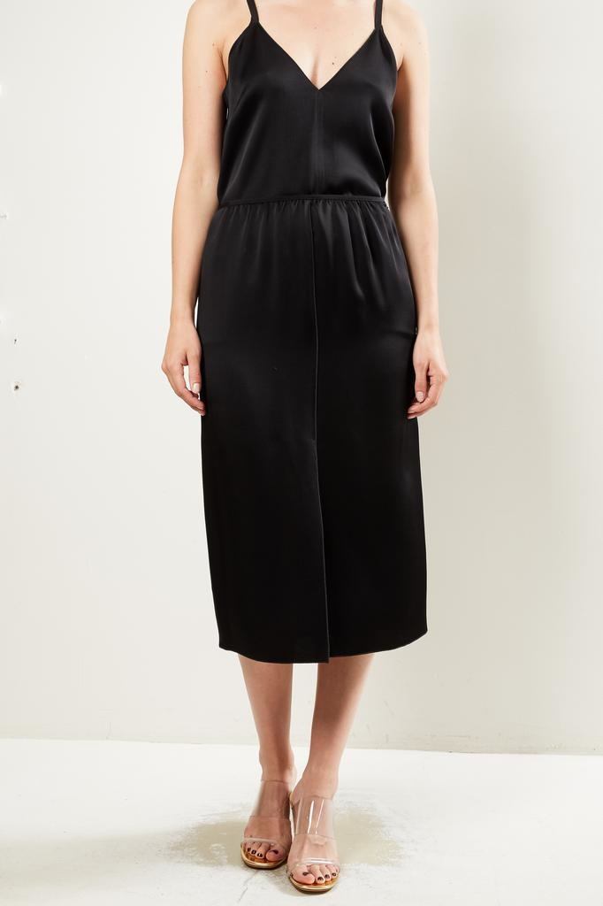 Forte Forte viscose crepe enverssatin pencil skirt