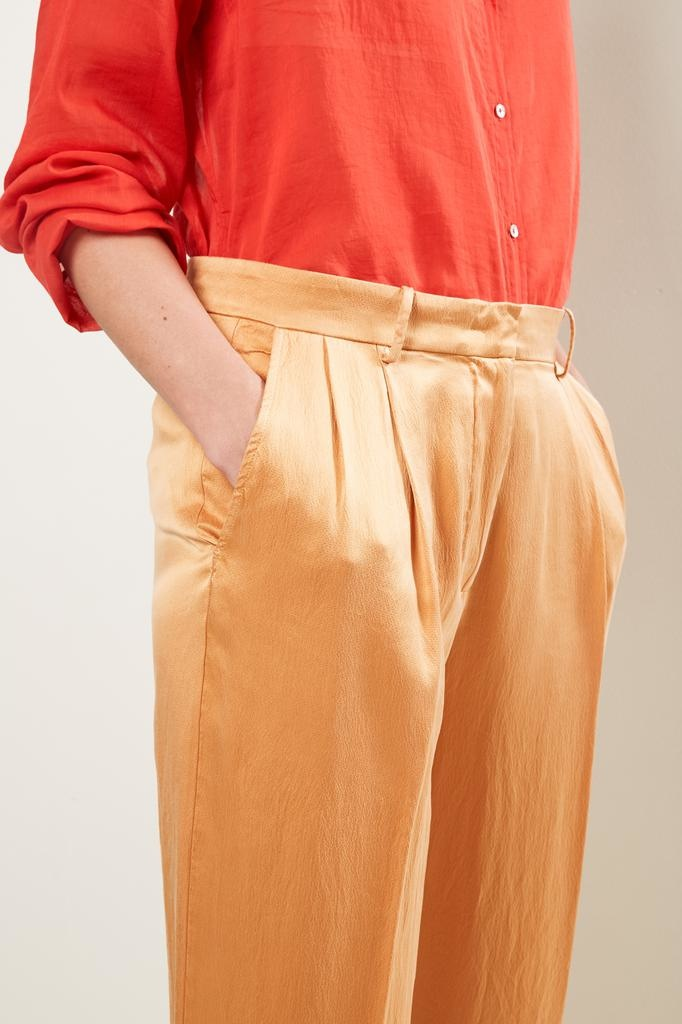 Forte Forte - cloquet silk pants