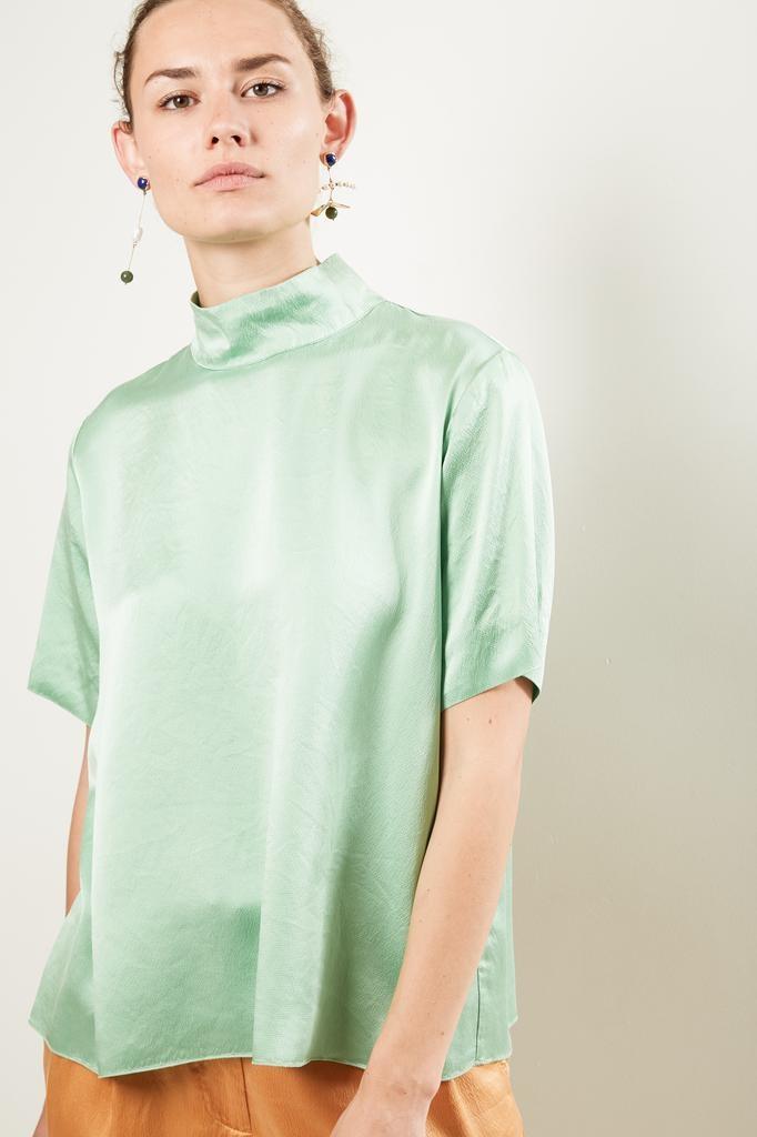 Forte Forte - cloquet silk t-shirt