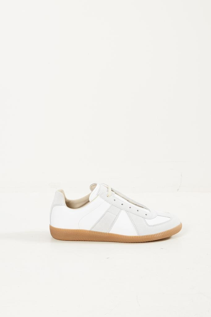 Maison Margiela 70's replica suede leather sneaker