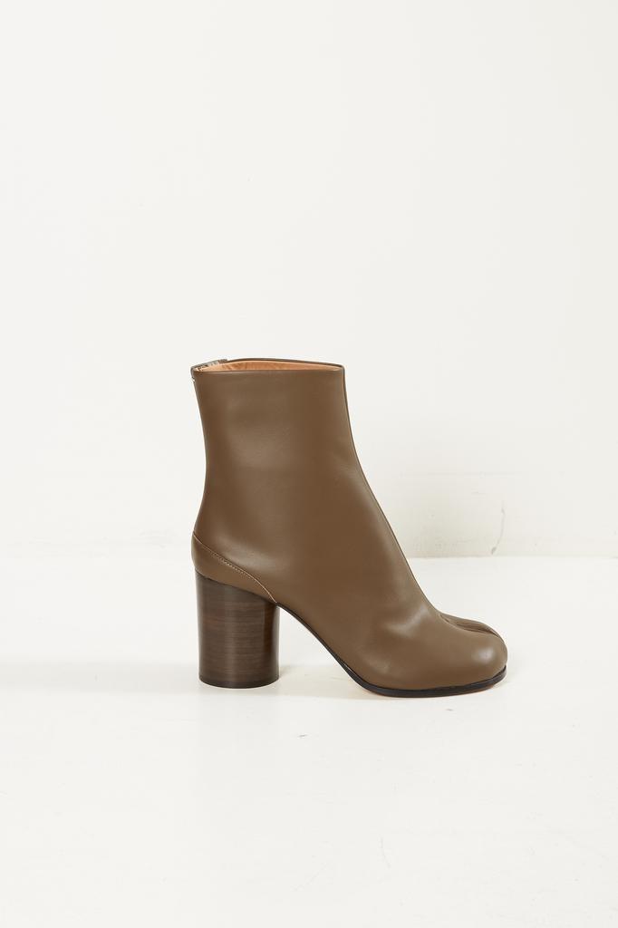 Maison Margiela Tabi short leather boots