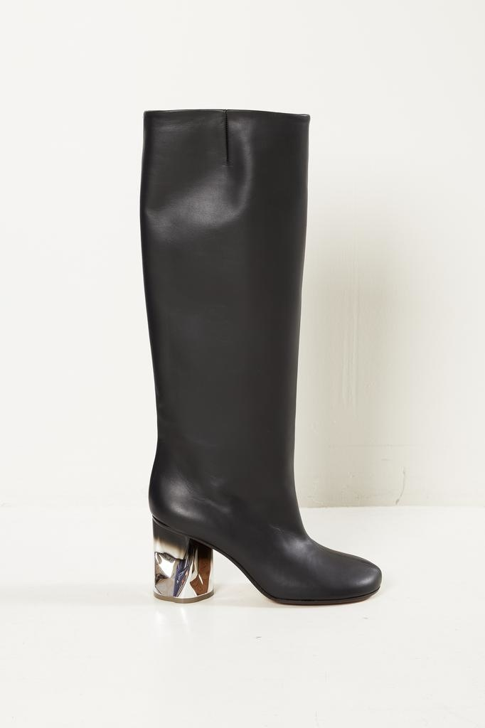 Maison Margiela - Leather knee high boot
